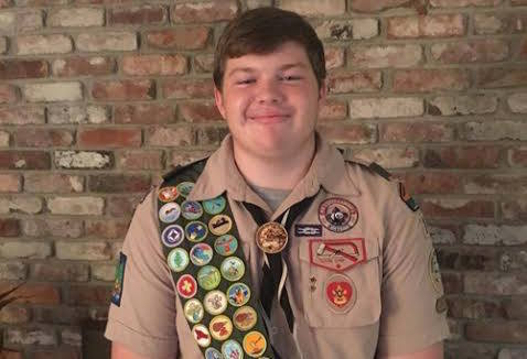 Woodland Alumnus Becomes Eagle Scout