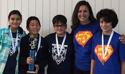 Woodland Teams secure two 3rd-place wins at Future Problem Solvers State Competition