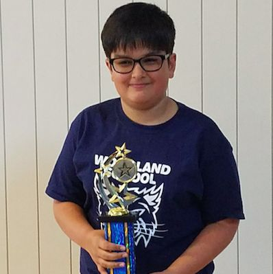 Woodland 5th Grader Qualifies for International Scenario Writing Competition