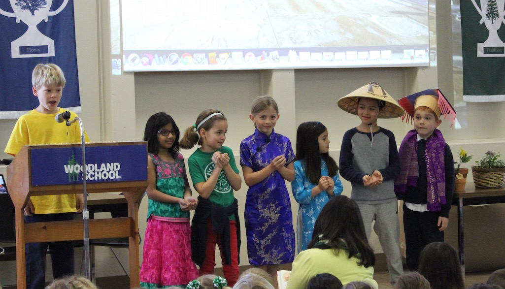 Culture Week at Woodland School